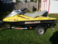 For sale is a good 2003 Sea Doo GTX SuperChared 3