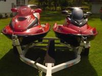 2003 Sea-Doo RX-DI with electronic trim system. Seats 2