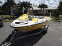 I am selling a 2003 Seadoo sportster. I just had the