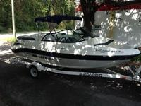 THIS UNIT IS A 2003 SEA DOO UTOPIA 185, ITS POWERED BY