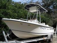This Sea Hunt Triton is ready to fish, go out with