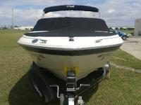 This 2003 Sea Ray 185 Bowrider is an exceptional