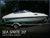 2003 Sea Sprite 2052 Cuddy Cabin - Stock #073338 -