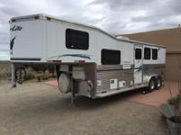 2003 Silverlite 3 horse with 8.5 ft. SW living