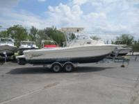 2003 SportCraft 261 WAC Includes Trailer the 261 Walk