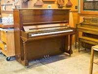 | Fantastic Steinway & & Sons upright piano design K52