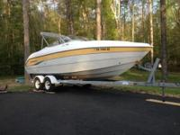 2003 Stingray 240LR Bowrider w trailer. Mercruiser 5.0