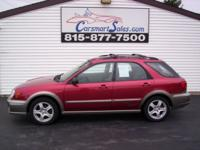 *** WARRANTY INCLUDED *** an OUTBACK SPORT AWD that