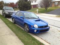 SUPER NICE WRX!!! A MUST SEE!!! SUPER CLEAN!!! Our