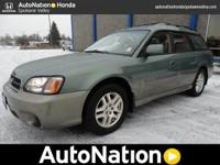 Have a look at this gently-used 2003 Subaru Legacy