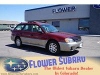 Superior design defines the 2003 Subaru Wilderness! A