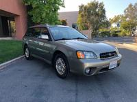 Highly desirable 2003 Subaru Outback H3.0 AWD 1 Owner.