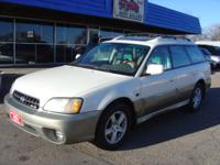 Options Included: 2003 Subaru Outback L.L. Bean, AWD,