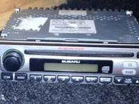 2003 Subaru Weather band CD player used but works great