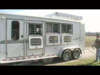 This is a 2003 Sundowner, 727 Sunlite, 3 horse slant.