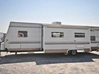 This used travel trailer is perfect for a family