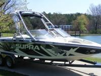 ,,,,2003 supra sunsport V drive, 400 hours, fully