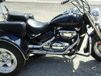 2003 SUZUKI BOULEVARD TRIKE 800CC ONLY 18,000 MILES ON