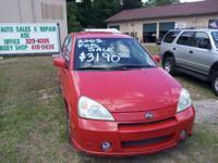 Description Make: Suzuki Model: Aerio Mileage: 138,000