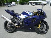 2003 Suzuki GSX-R1000 BLUE ONLY 19058 MILES RUNS &