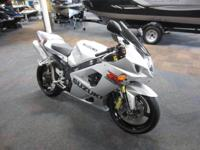 2003 SUZUKI GSX-R1000! Features include: 988 cc