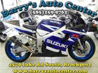2003 Suzuki GSX-R750CC With Customizations - Must See!