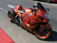 This beautiful custom Hayabusa is one of a kind. It