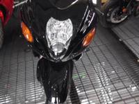 2003 SUZUKI HAYABUSA GSX1300R, BLACK IN COLOR, WITH