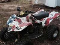 I have a 2003 ltz 400 runs good new tires ,needs a