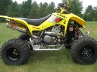 2003 Suzuki LTZ400, liquid cooled 4 stroke with