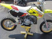 2003 Suzuki RM65 Mini..Moto the RM65 is the new 65cc