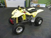 2003 SUZUKI 400 LTZ QUADSPORT! With an advanced