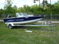2003 Sylvan Navigator 16' aluminum fishing boat with