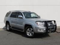 2003 Toyota 4Runner Limited CARFAX One-Owner. Stone