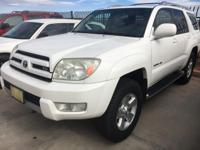 Check out this gently-used 2003 Toyota 4Runner we