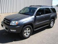 Options Included: 4x4, Air Conditioning, Alarm System,