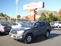 Options:  2003 Toyota 4Runner Sr5|Carfax One-Owner.