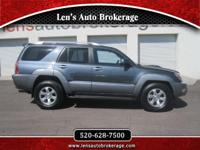 Options:  2003 Toyota 4Runner Clean And Nice Driving