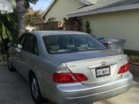 Hello You are buying a clean used 2003 Toyota Avalon
