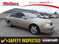 2003 TOYOTA Avalon SEDAN 4 DOOR 4dr Sdn XL w/Bucket