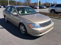 Desert Sand Mica 2003 Toyota Avalon XLS FWD 4-Speed