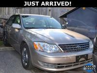 This Avalon features: 4-Speed Automatic with