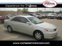 2003 Toyota Camry LE with 190,160 miles. Options