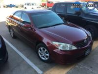 Clean CarFax and One Owner CarFax. Camry LE, FWD, Red,