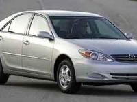 2003 Toyota Camry LE in Silver, low mileage, rare find,