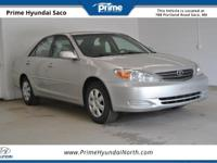 CARFAX One-Owner! 2003 Toyota Camry LE in Lunar Mist!