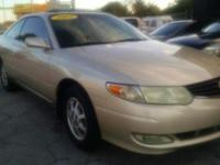 REAL CLEAN CAMRY SOLARA XLE. GOLD OVER TAN LEATHER.