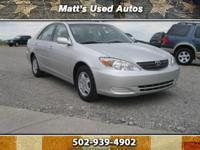 2003 Toyota Camry XLE, This Car is in good condition