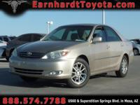 We are happy to offer you this 2003 Toyota Camry XLE