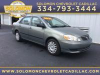 Options:  2003 Toyota Corolla |Miles: 247597Color: